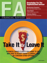 Using Trend Following to protect your investment in volatile times - published in Financial Advisor Magazine